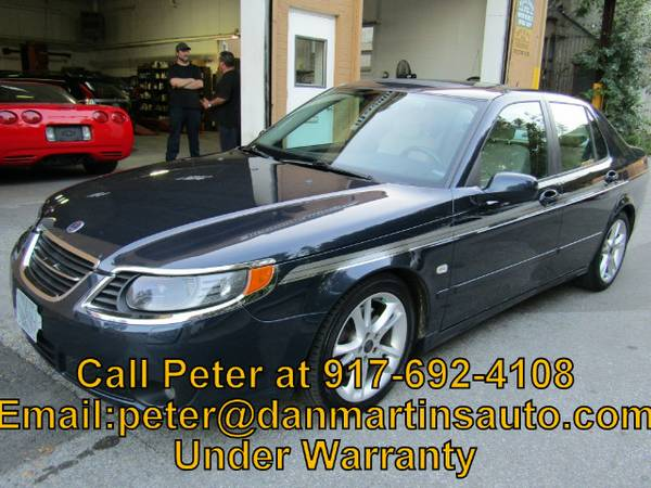 2007 Saab 9-5 Aero Sedan, Moonroof, Leather, Well Maintained