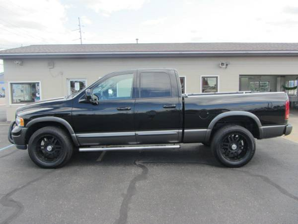2004 Dodge Ram 4x4 V8 Quad Cab Truck. Warranty