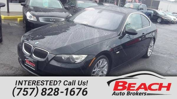 2007 BMW 328i , CARFAX CERTIFIED, SUNROOF DUAL POWER LEATHER Coupe...