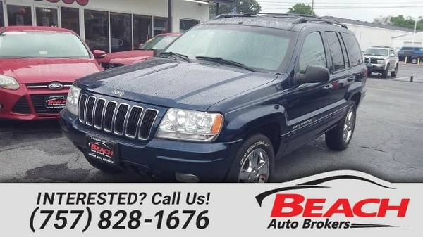 2003 Jeep Grand Cherokee SUV Grand Cherokee Jeep