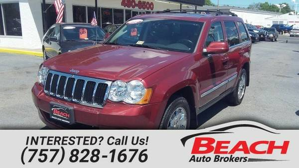 2008 Jeep Grand Cherokee SUV Grand Cherokee Jeep