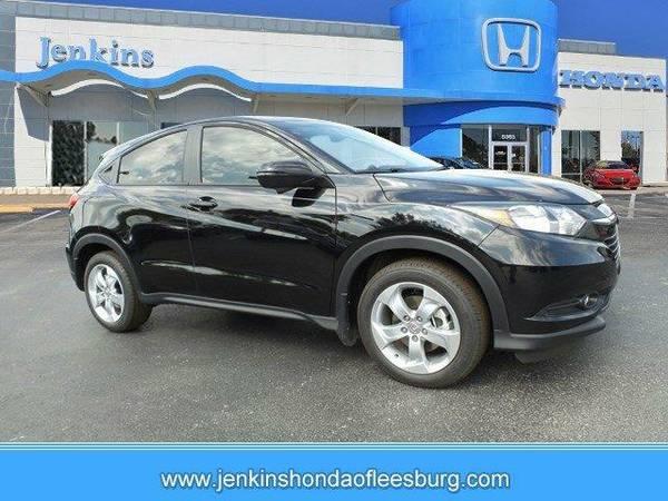 2016 *Honda HR-V* EX - Crystal Black Pearl