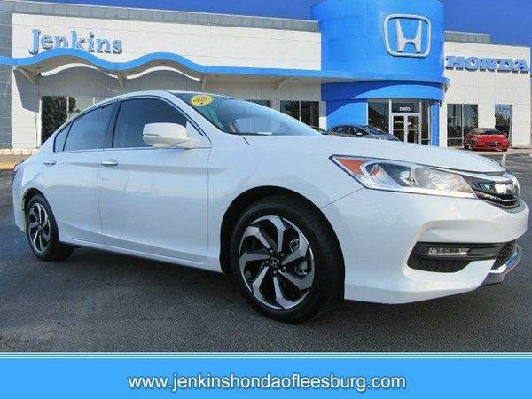 2016 *Honda Accord* EXLV6 - White