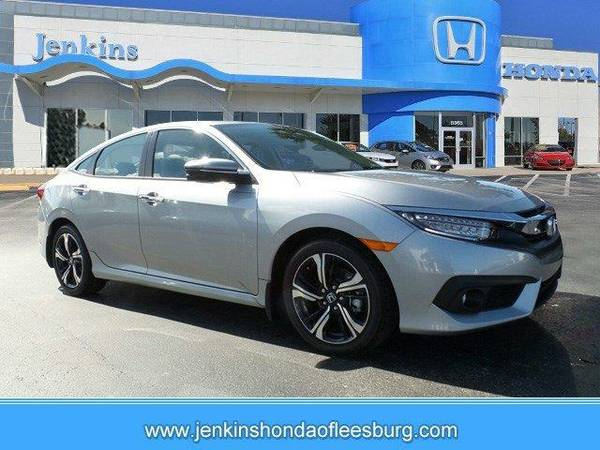2016 *Honda Civic Sedan* Touring - Lunar Silver Metallic