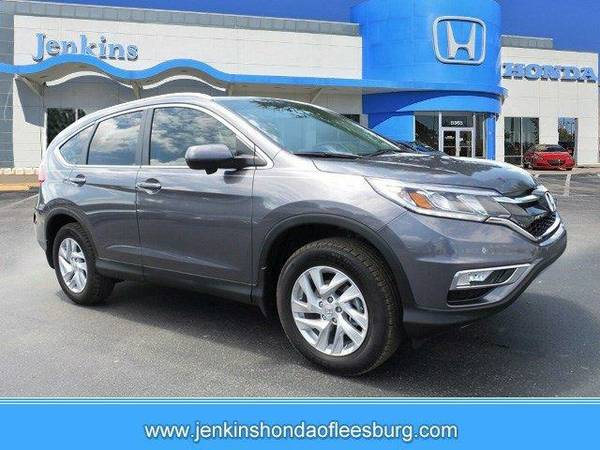 2016 *Honda Cr-V* EX-L - Gray