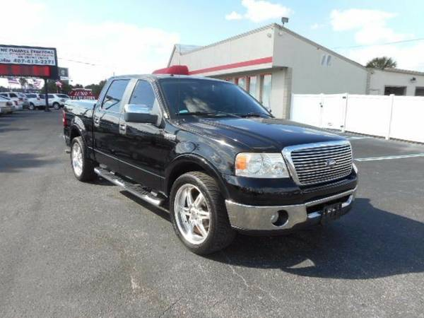 2007 Ford F-150 Lariat SuperCrew 2WD $700 down drive today NO CREDIT...