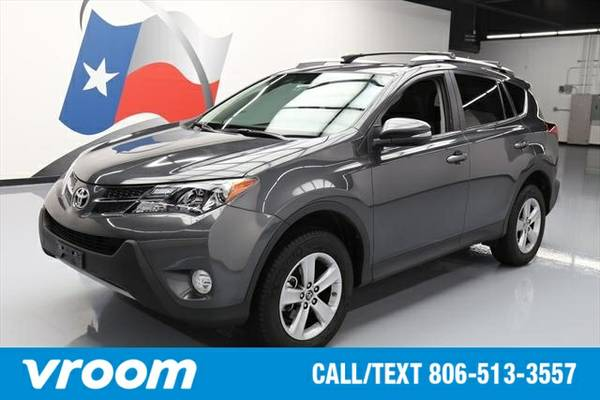 2015 Toyota RAV4 XLE 4dr SUV 7 DAY RETURN / 3000 CARS IN STOCK