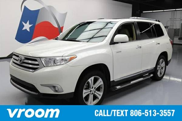 2013 Toyota Highlander Limited 4dr SUV 7 DAY RETURN / 3000 CARS IN STO