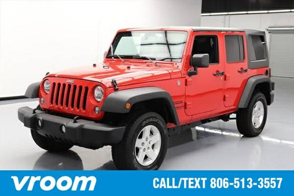 2015 Jeep Wrangler Unlimited Sport 7 DAY RETURN / 3000 CARS IN STOCK