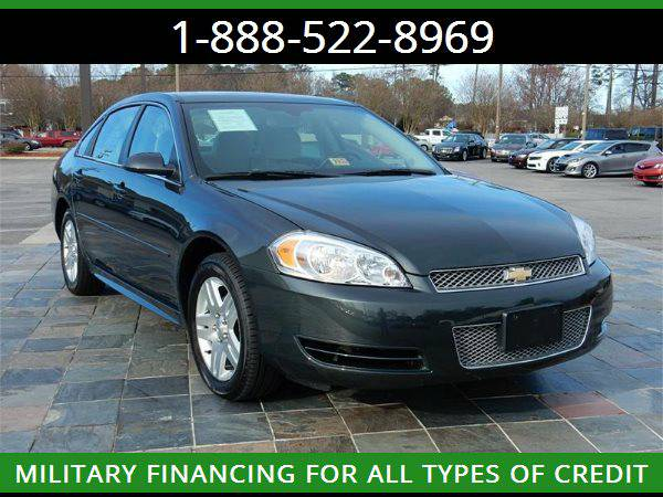 2014 CHEVROLET IMPALA LIMITED --MILITARY $O DOWN FINANCING!_ALL CREDIT