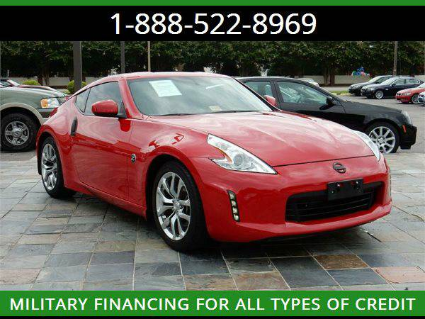 2014 NISSAN 370Z --MILITARY $O DOWN FINANCING!_ALL CREDIT OK
