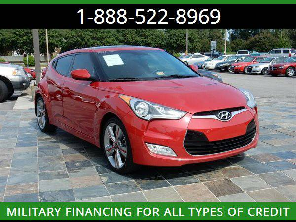 2013 HYUNDAI VELOSTER --MILITARY $O DOWN FINANCING!_ALL CREDIT OK