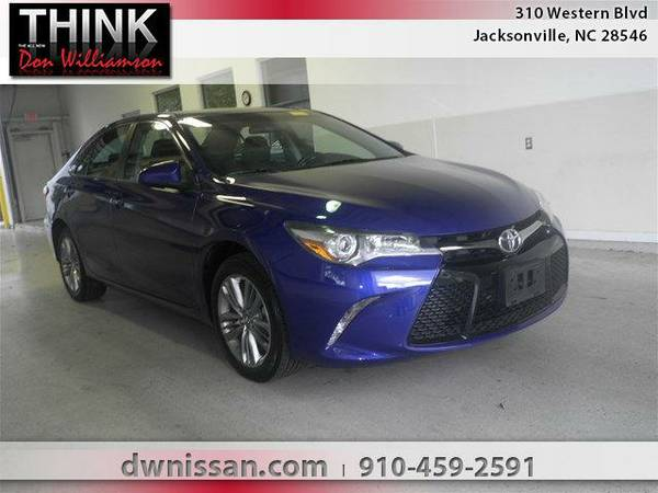 2015 *Toyota Camry* SE - Good Credit or Bad Credit!