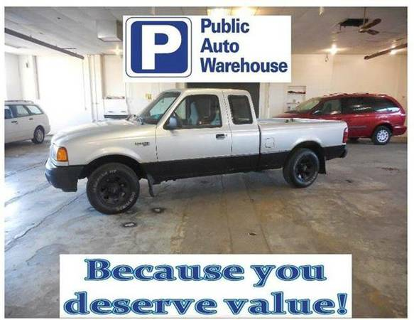 2002 FORD RANGER XLT - PRICE DROP ON THIS One Owner Truck!!