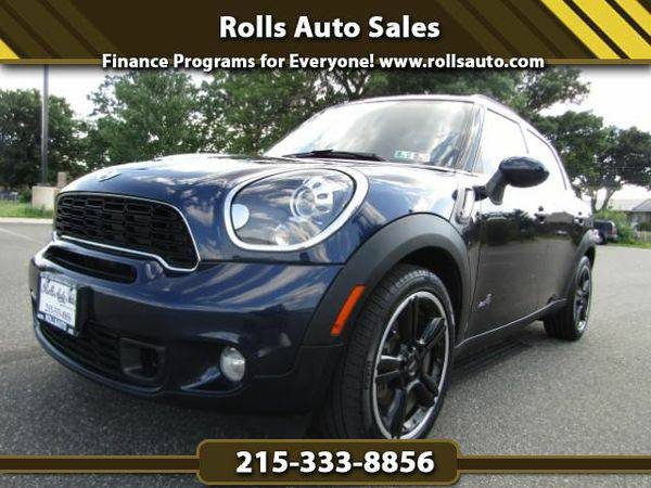 2012 *MINI* *Countryman* S ALL4 From $495 Down! EZ Financing