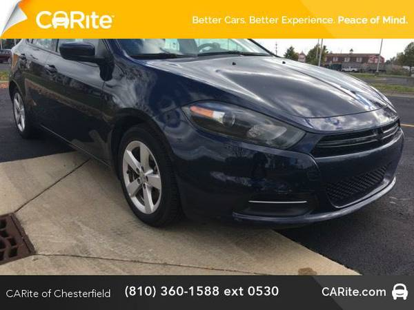 2015 *Dodge Dart* 4dr Sdn SXT (Pitch Black Clearcoat)