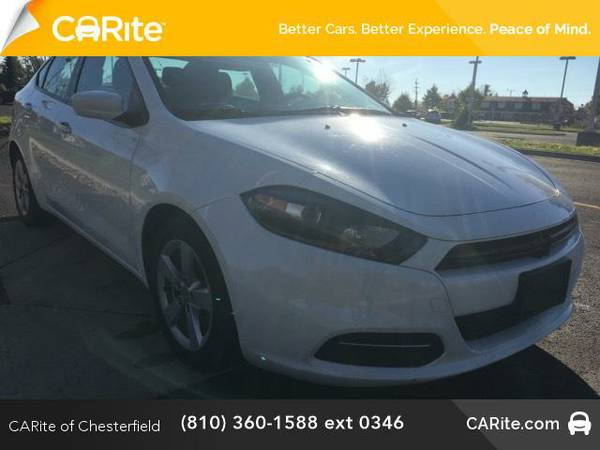 2015 *Dodge Dart* 4dr Sdn SXT (Bright White Clearcoat)