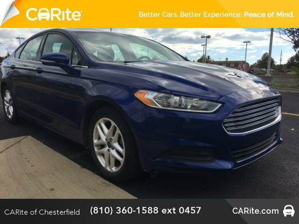 2015 *Ford Fusion* 4dr Sdn SE FWD (Deep Impact Blue)