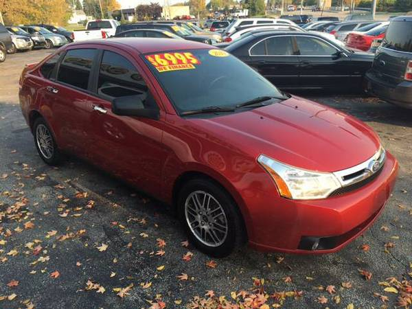 2010 FORD FOCUS SE GUARANTEED CREDIT APPROVAL....