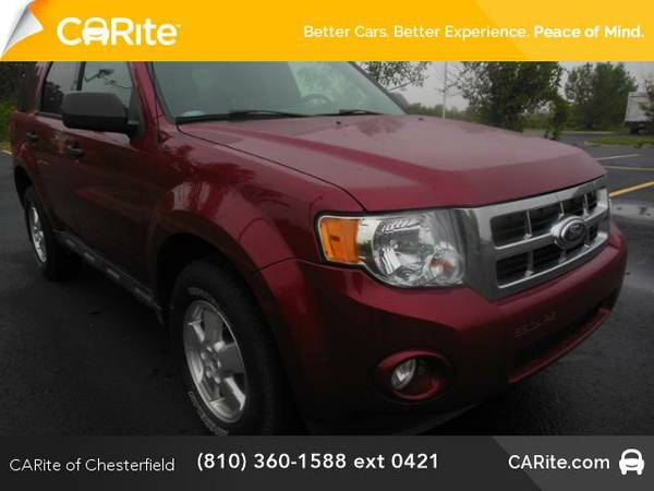 2012 *Ford Escape* FWD 4dr XLT (Toreador Red Metallic)