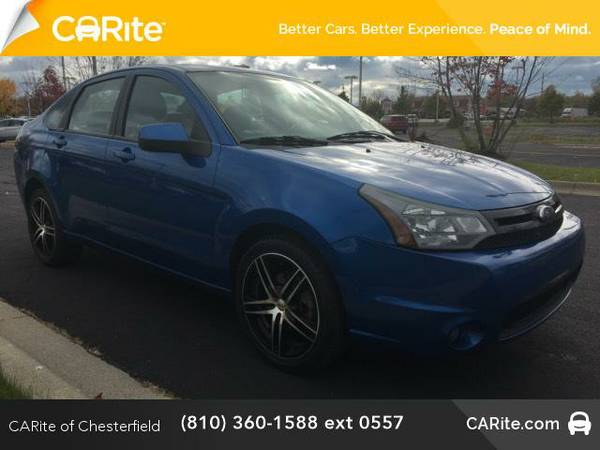 2010 *Ford Focus* 4dr Sdn SES (BLUE)