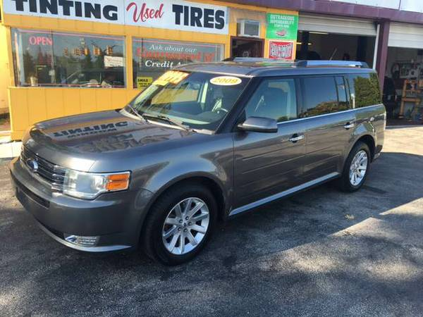 2009 FORD FLEX SEL AWD GUARANTEED CREDIT APPROVAL...