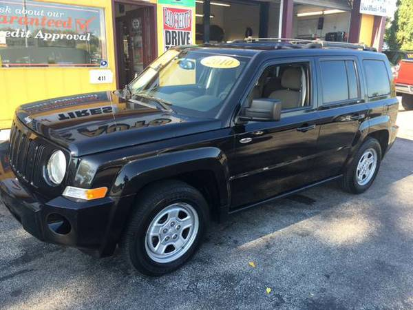 2010 JEEP PATRIOT SPORT GUARANTEED CREDIT APPROVAL...