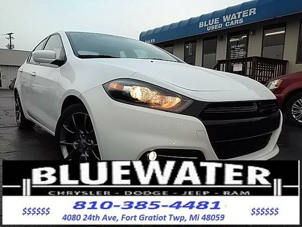 2014 *Dodge Dart* SXT - White