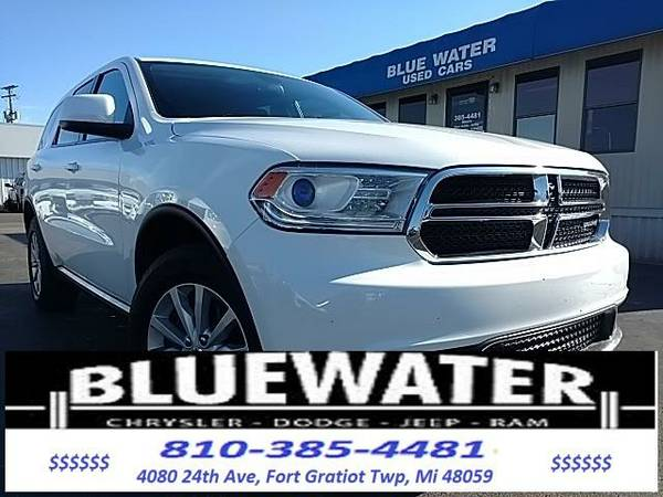 2014 *Dodge Durango* SXT - White