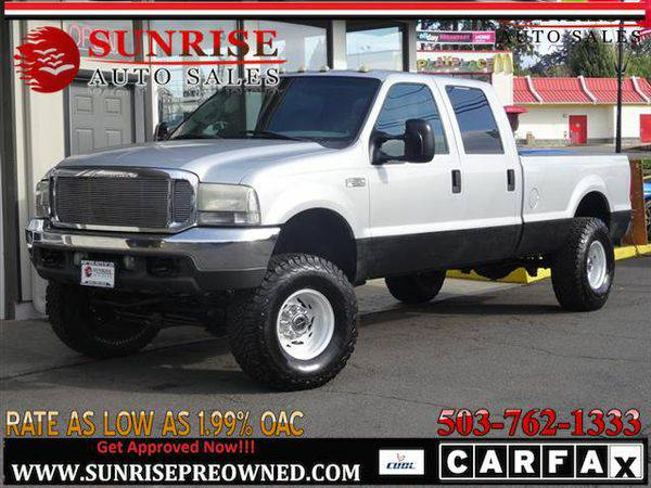 2001 *Ford* *F-350* *F 350* *F350* Super Duty Lariat LONG BED 4WD, 7.3