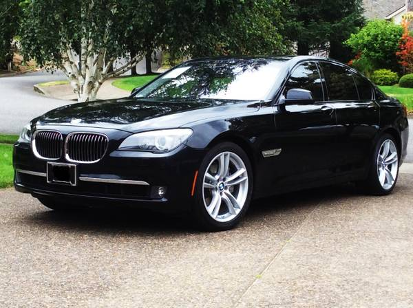 2011 BMW 740i, 62k miles, CarFax, Msport wheels
