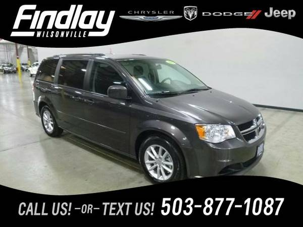 2015 Dodge Grand Caravan 4dr Wgn SXT Mini-Van Grand Caravan Dodge