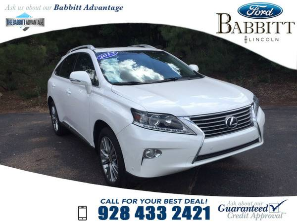 *2013* *Lexus Rx 350* *Base* White