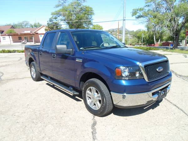 2007 FORD F150 SUPERCREW 2WD**XLT**ONLY 124K MILES**CLEAN TITLE**