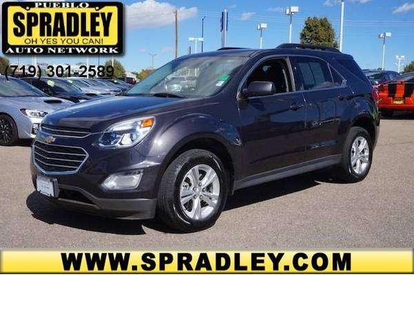 2016 *Chevrolet* *Equinox* *LT* 4WD One Owner CARFAX Truck SUV 16