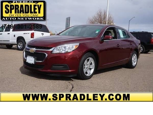 2016 *Chevrolet* *Malibu Limited* *LT* 2.5L One Owner CARFAX Truck 16