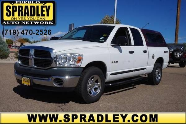 2008 *Dodge* *Ram 1500* *ST* Extended Cab Crew Truck SUV 08
