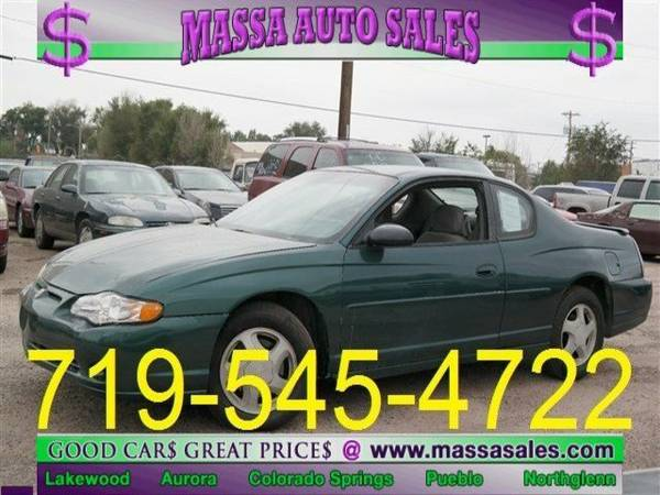 2000 Chevrolet Monte Carlo 2dr Cpe SS 2dr Car