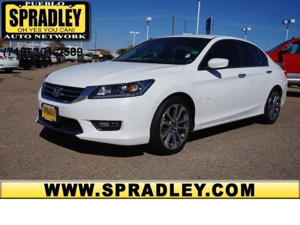2014 *Honda* *Accord Sedan* *Sport* 2.4L One Owner CARFAX Coupe SUV 14