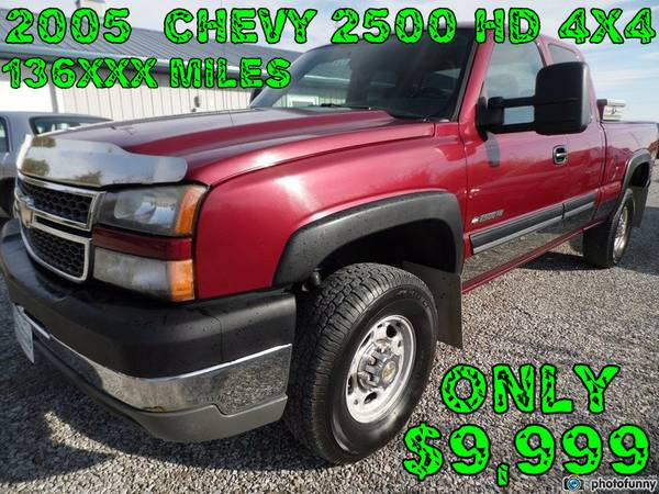 ** WOW** 2005 CHEVY 2500 HD 4X4 SAVE $$$$ ** SHARP **
