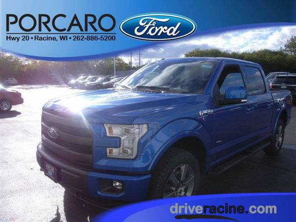 2015 *Ford F-150* Lariat - Blue Flame Metallic