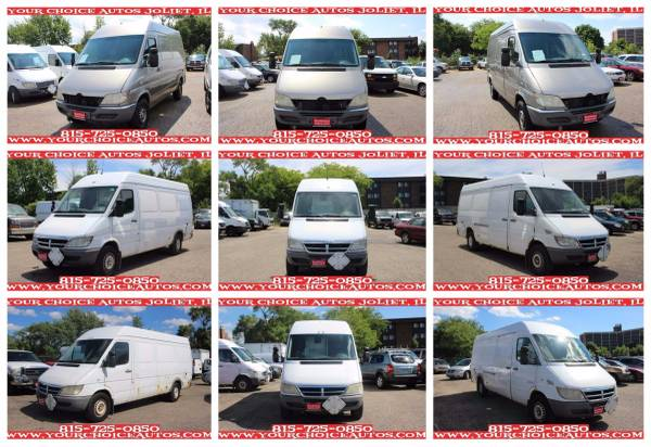 2004-2005 *DODGE* *SPRINTER 2500* HIGH ROOF 140/158WB CARGO VAN 725554