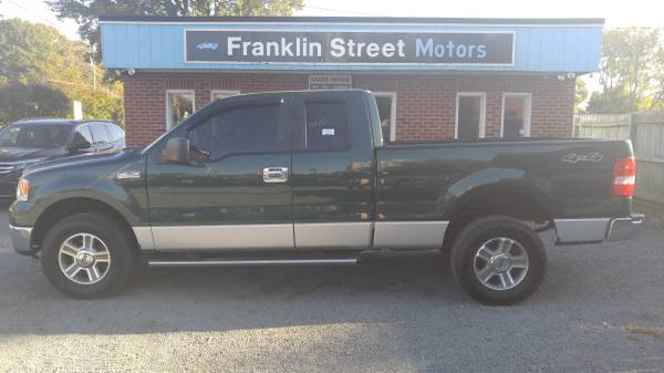 2007 FORD F150 XLT 4x4 SUPERCAB! LOW MILES! BAD CREDIT OK! $499 DOWN!