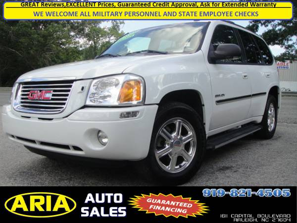 2006 GMC ENVOY SLE *124K MILES* WE FINANCE*