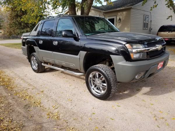 2002 AVALANCHE CHEVY 4X4