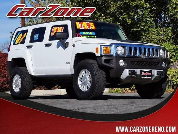 2009 HUMMER H3 White ON SPECIAL!