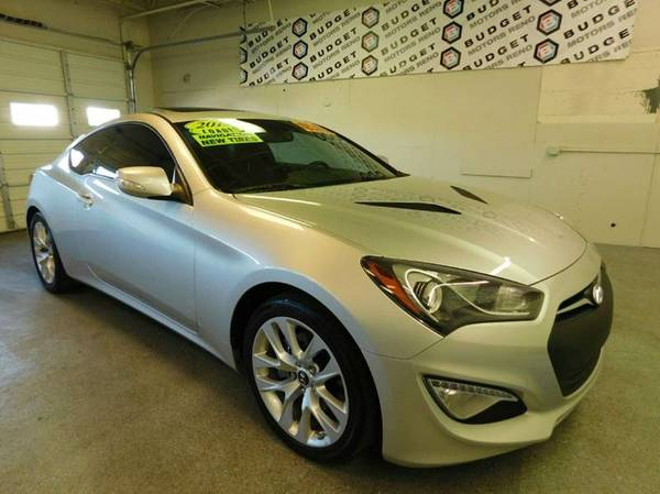 2013 Hyundai Genesis Coupe Silver WOW... GREAT DEAL!
