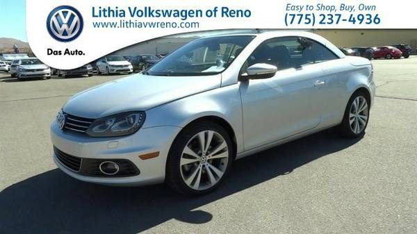 2013 Volkswagen EOS LUXURY PACKAGE (You Save $2,623 Below KBB Retail)