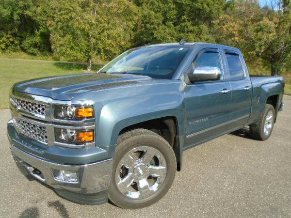 2014 CHEVROLET SILVERADO LTZ...ONLY 16K MILES, 6.2L, LOADED, LIKE NEW!