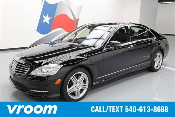 2013 Mercedes-Benz S-Class S550 7 DAY RETURN / 3000 CARS IN STOCK